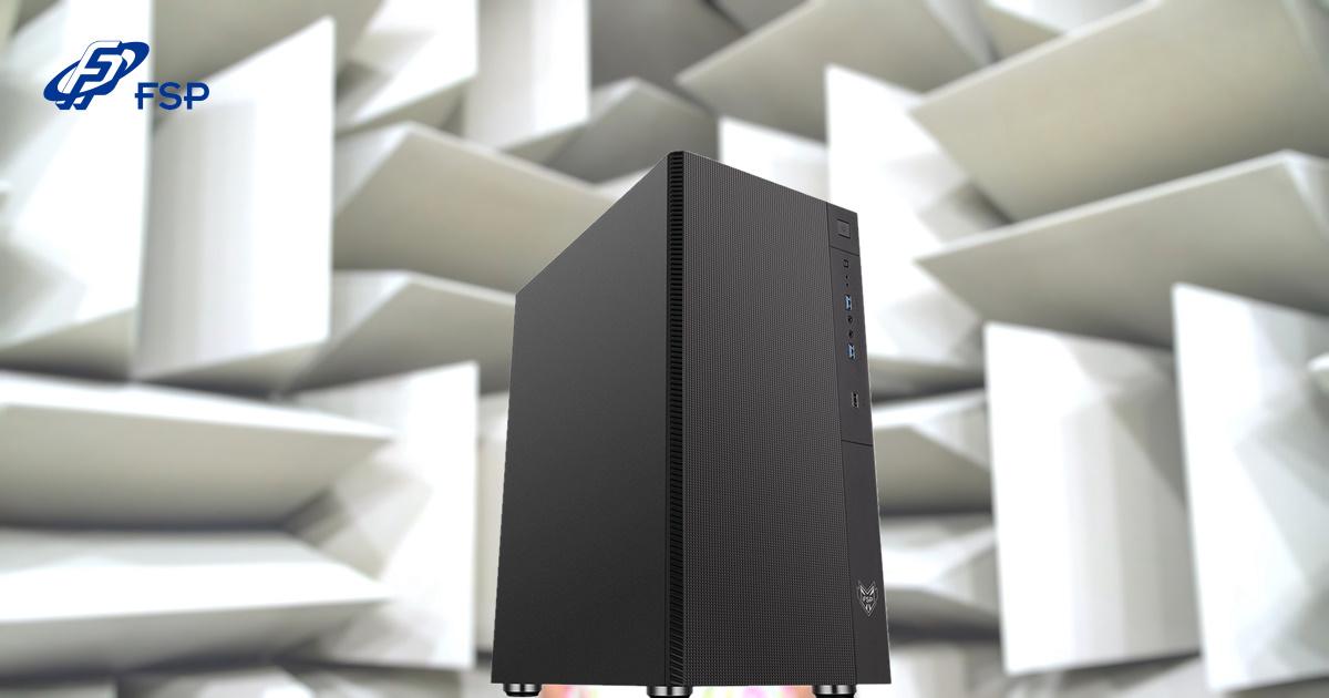 FSP 全漢發表新款中塔靜音機殼 CMT213S,讓您享受安靜的娛樂空間