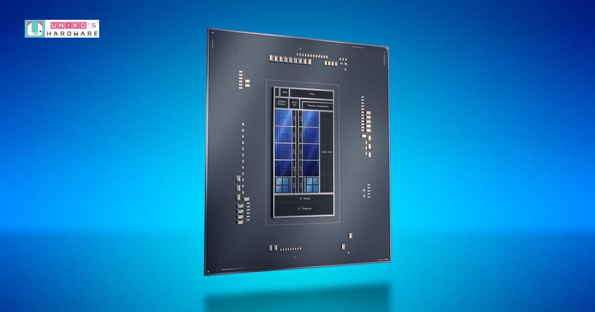 Intel Core i7-12700 在 Geekbench 洩漏的跑分性能接近 AMD Ryzen 7 5800X