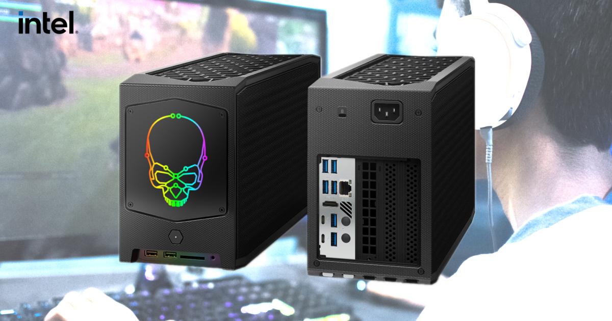 小小機身,大大性能~ Intel NUC 11 Extreme 套件賦予高階遊戲體驗