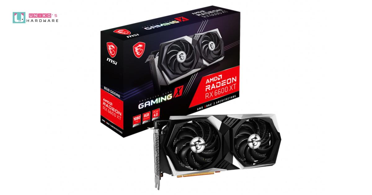 MSI Radeon RX 6600 XT Gaming X 已經在 Newegg 上架,售價高達 1100 美元