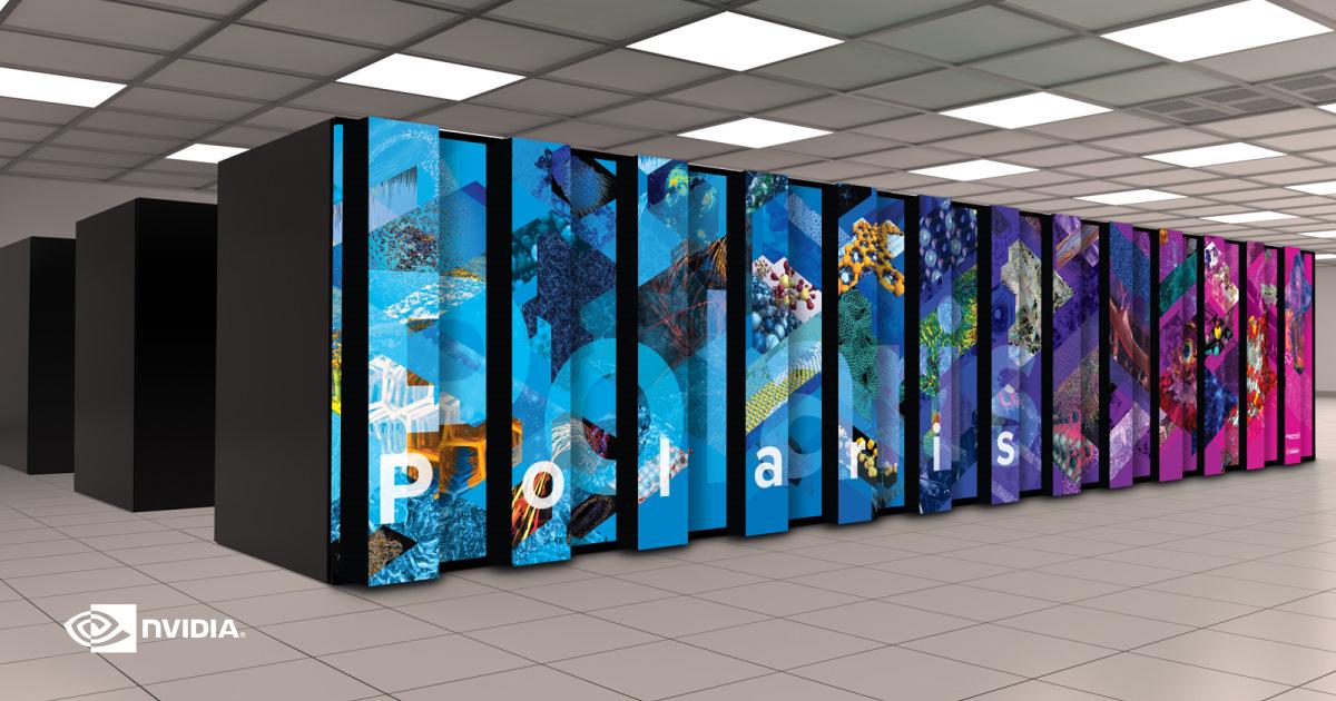 NVIDIA 協助阿貢國家實驗室組建 Polaris 超級電腦,發展超大規模人工智慧