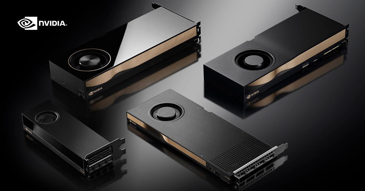 NVIDIA 推出小巧且節能設計的全新繪圖卡 RTX A2000 GPU,讓更多專業人士能夠享受 RTX 技術