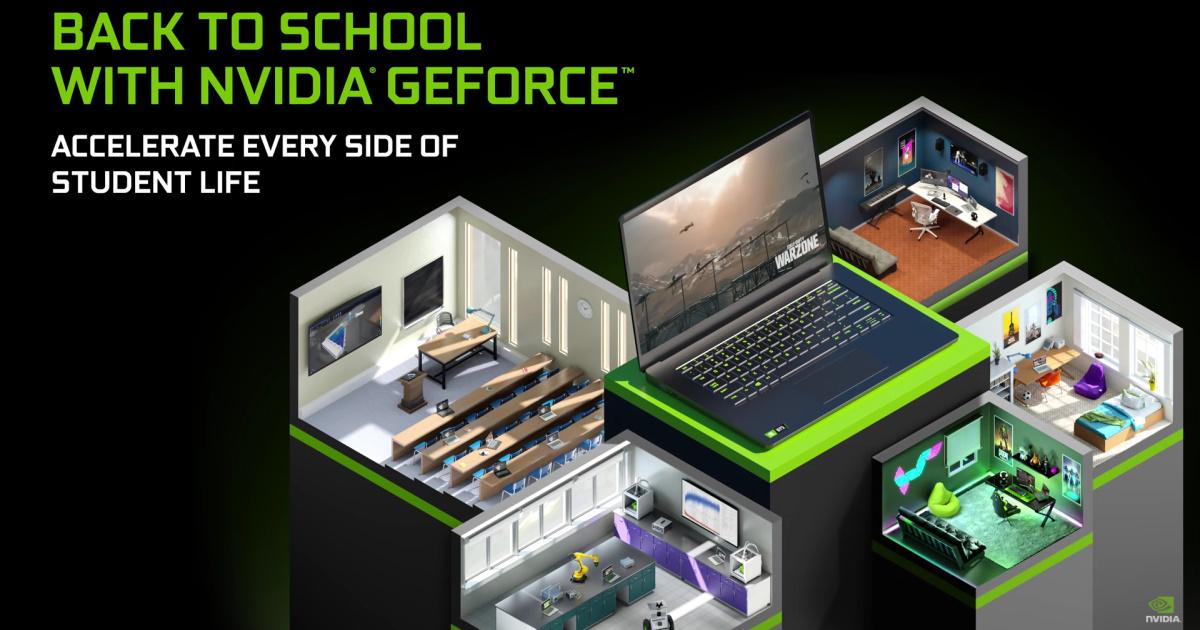 選購 NVIDIA GeForce RTX 筆記型電腦陪你開學,多款暢銷型號限時限量特惠中