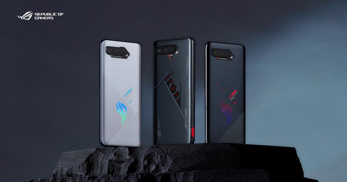 遊戲戰神 ROG Phone 5s & ROG Phone 5s Pro 新登場,配備最新高通 888+處理器
