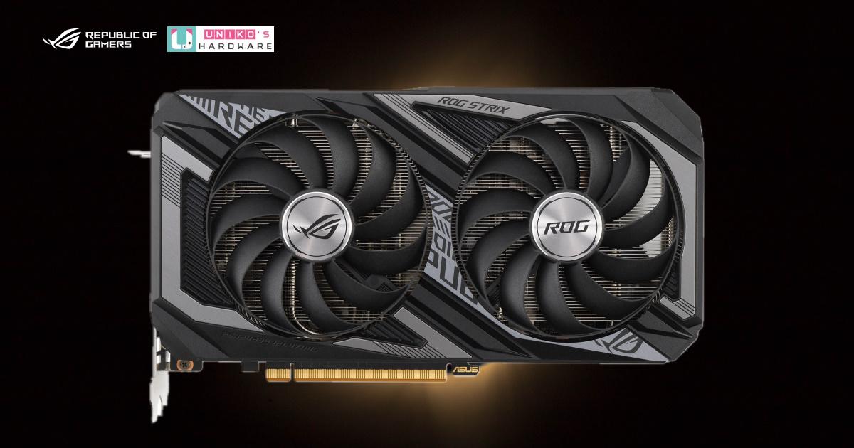 視覺型玩家注意!ASUS 全新 ROG & DUAL AMD Radeon RX 6600 XT 系列顯示卡勁酷登場