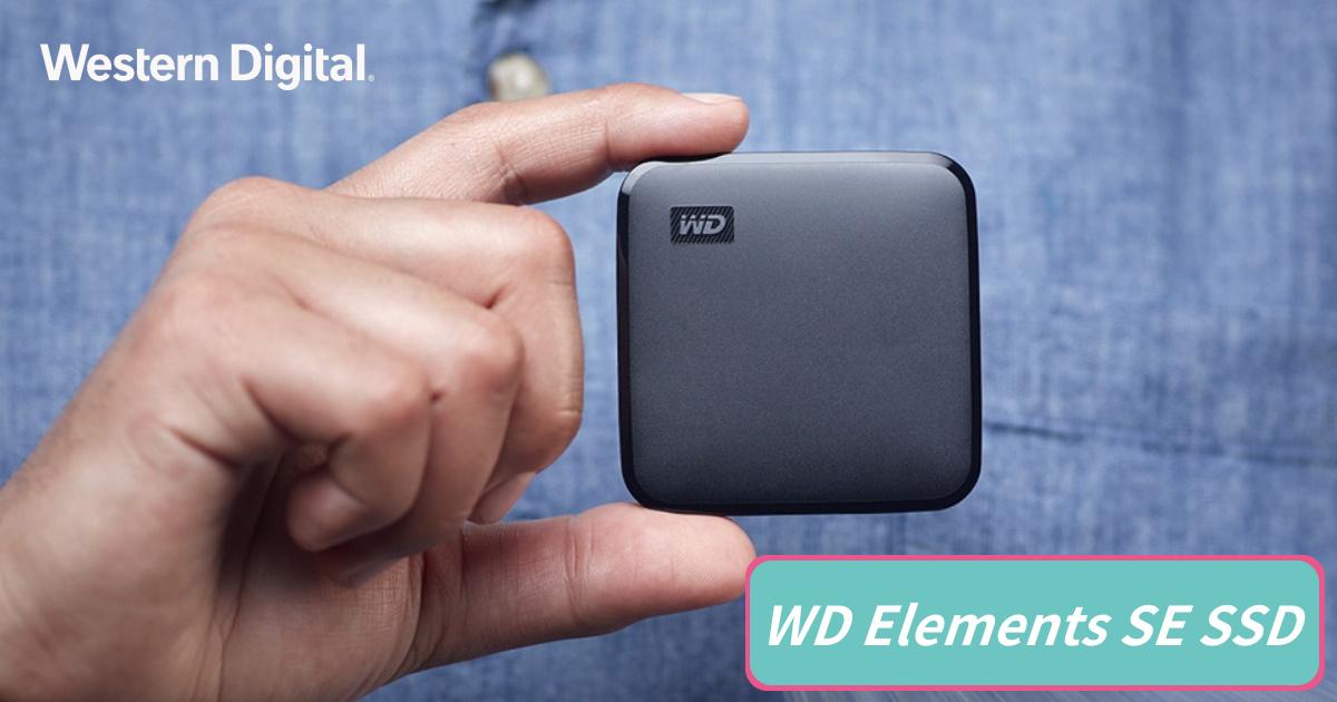 Western Digital 全新入門 WD Elements SE SSD 上市
