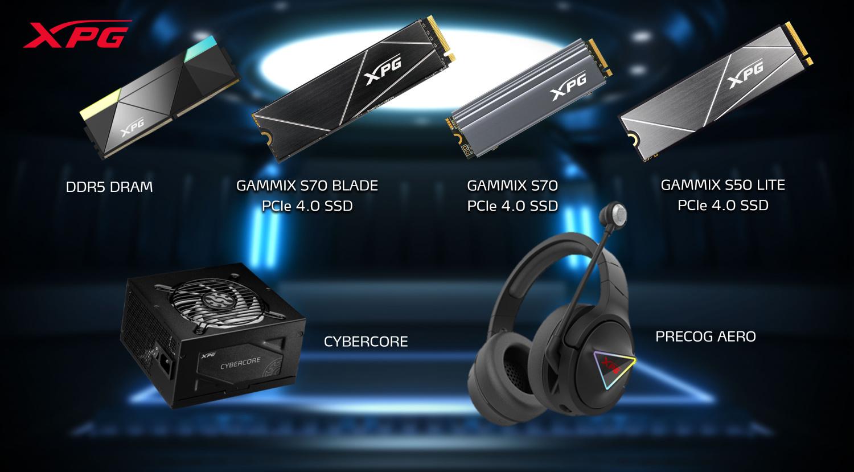 XPG 電競系列產品。