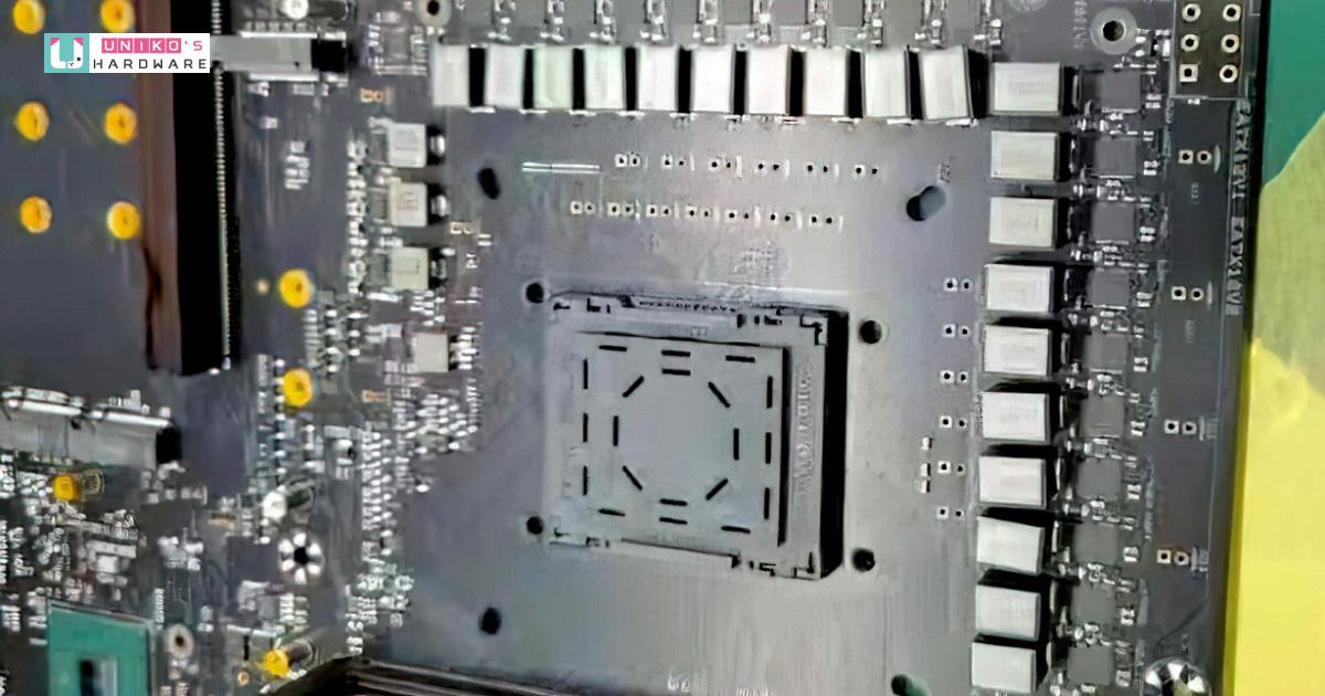 傳聞中的 Intel Z690 主機板外觀已經洩漏?!