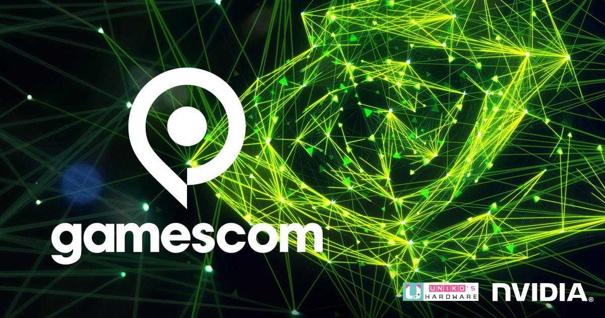 NVIDIA Gamescom 2021 虛擬大會遊戲動態