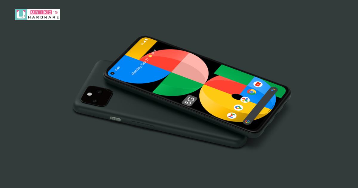 Google 新推出 Pixel 5a 5G,售價 449 美元