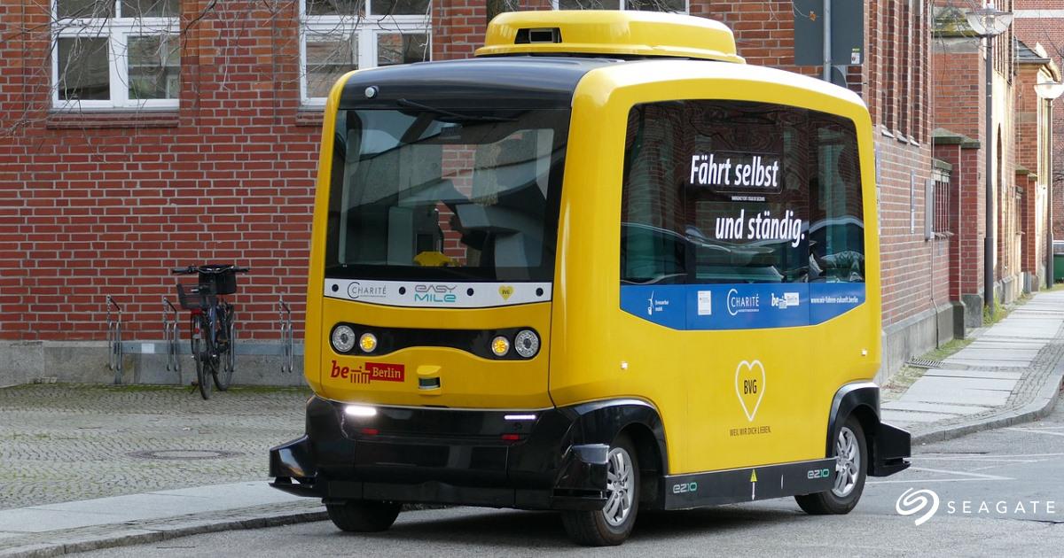 NI 與 Seagate 攜手合作強化資料運用,加速自動駕駛車技術發展