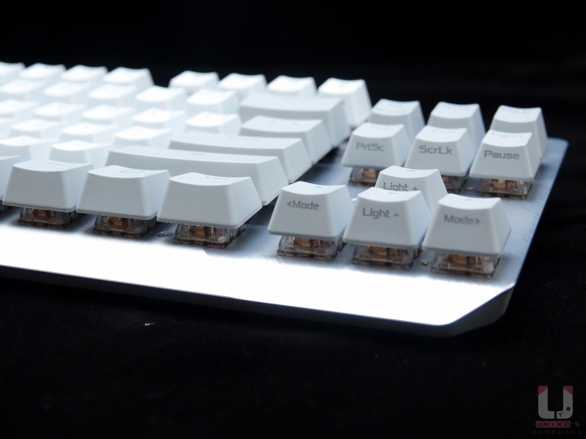 高質感的鍵盤上蓋。