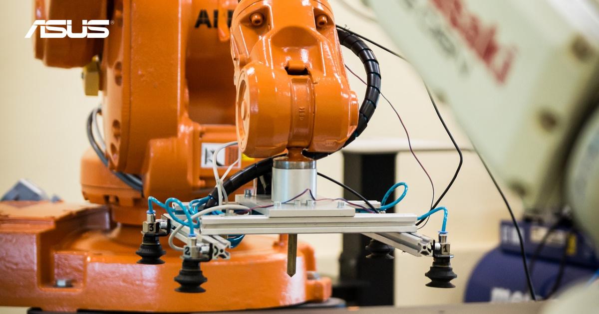 ASUS IoT 團隊推出工廠智慧檢測方案 ,讓產業升級如虎添翼