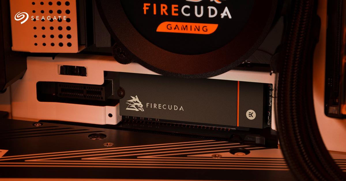 PS5 玩家擴充良伴,Seagate 推出 FireCuda 530 SSD 散熱器版