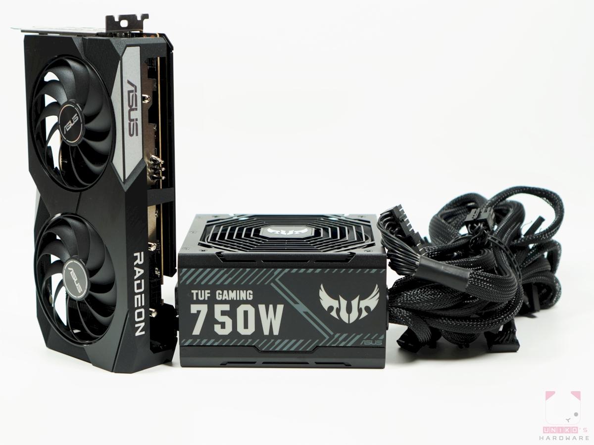搭配 ASUS TUF Gaming 750W 銅牌電源供應器