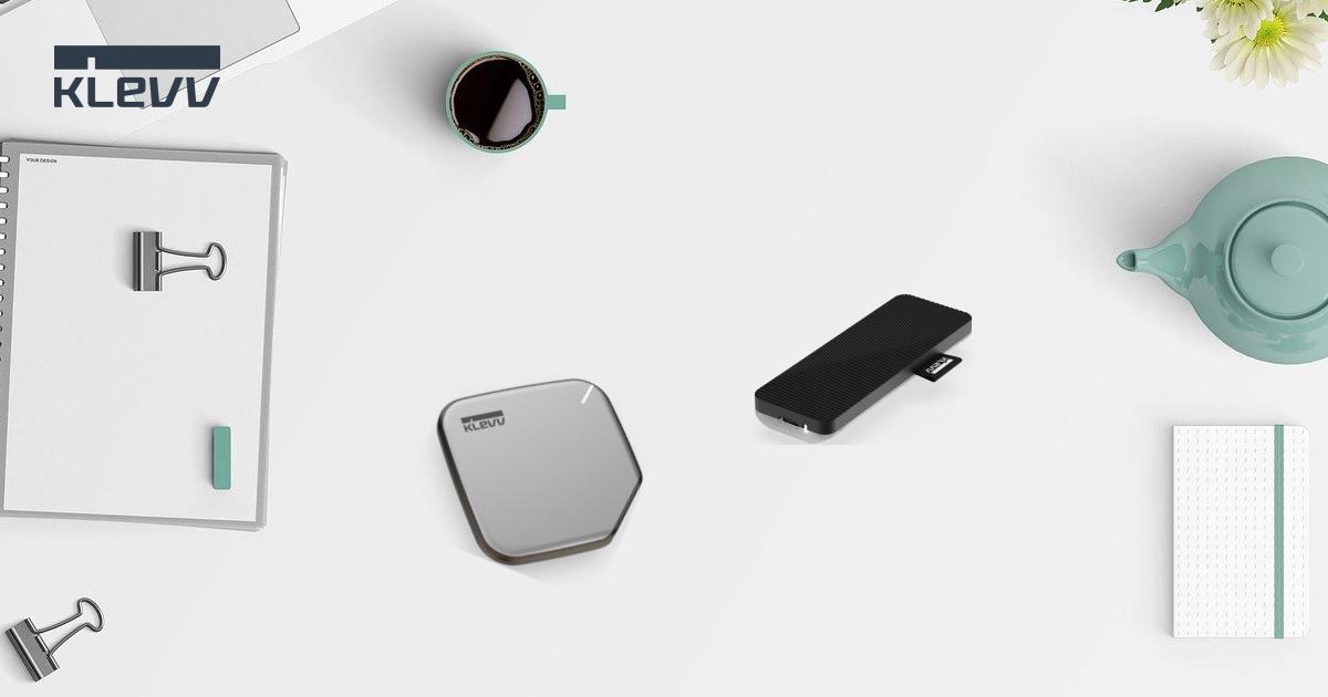 時尚高質感~ 科賦推出全新 KLEVV S1、KLEVV R1 高速可攜式 SSD 固態硬碟