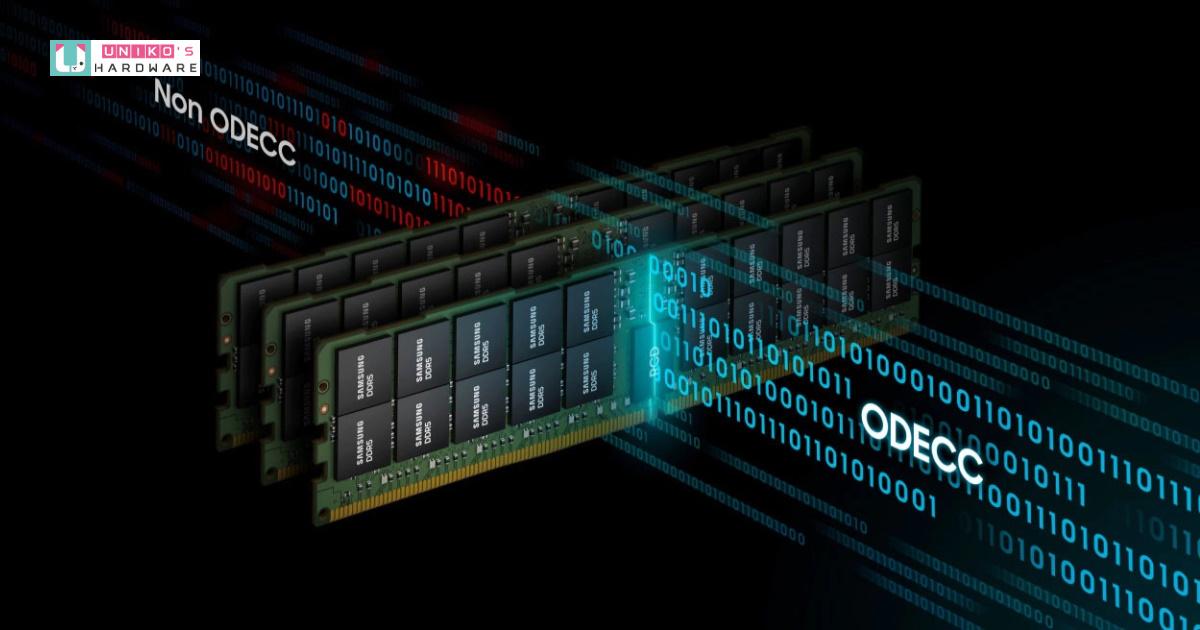 Samsung 開始在 14 奈米 EUV 節點上量產 DDR5 記憶體